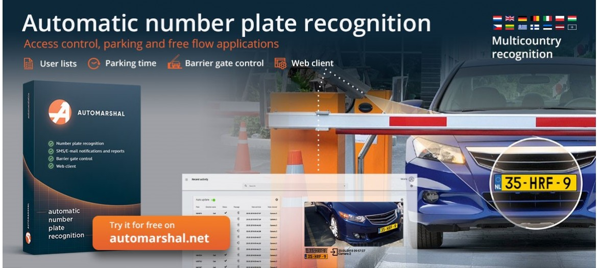 Automarshall number plate recognition